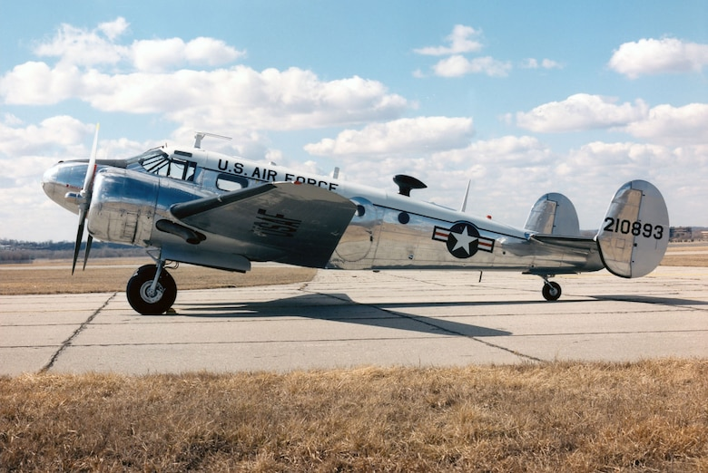 DAYTON, Ohio -- Beech C-45H Expeditor at the National Museum of the United States Air Force. (U.S. Air Force photo)