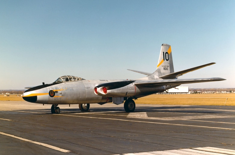 DAYTON, Ohio -- North American B-45C Tornado at the National Museum of the United States Air Force. (U.S. Air Force photo)