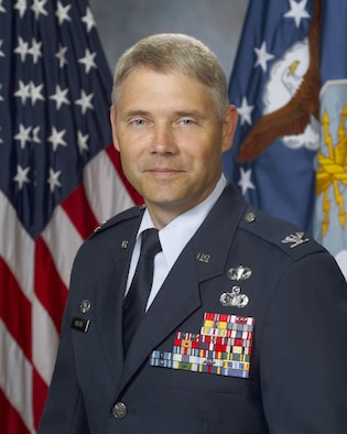 EGLIN AIR FORCE BASE, Fla. -- Col. Eric Pohland, 96th Air Base Wing commander.