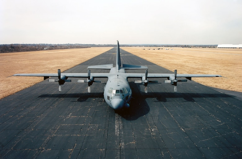 """DAYTON, Ohio -- Lockheed AC-130A """"Azrael"""" at the National Museum of the United States Air Force. (U.S. Air Force photo)"""