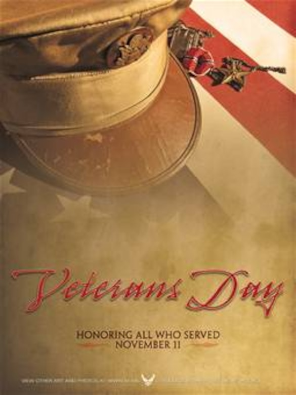 Veterans Day Poster. This poster is 7.5x10 inches @ 300 ppi and was created by j. Luke Borland of the Air Force News Agency. Poster is 6.5x10 @ 300 ppi and is available up to 18x24 @ 200 ppi. Air Force Link does not provide printed posters but a PDF version for printing is available. Requests can be made to afgraphics@dma.mil.  Please specify the title and number.
