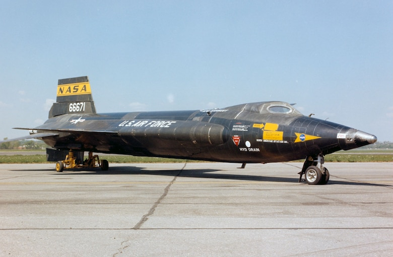 DAYTON, Ohio -- North American X-15A-2 at the National Museum of the United States Air Force. (U.S. Air Force photo)