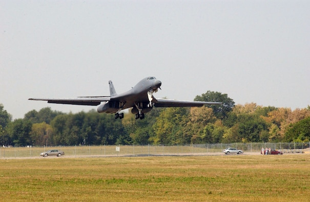 DAYTON, Ohio -- Boeing B-1B Lancer at the National Museum of the United States Air Force. (U.S. Air Force photo)