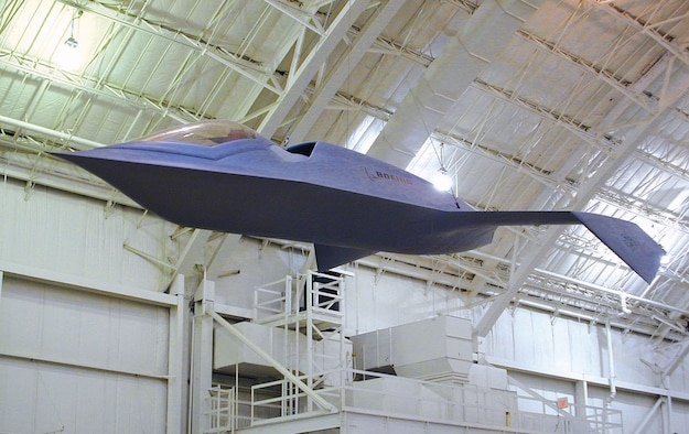 DAYTON, Ohio -- Boeing Bird of Prey at the National Museum of the United States Air Force. (U.S. Air Force photo)