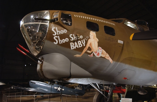 DAYTON, Ohio -- Boeing B-17G Flying Fortress in the World War II Gallery at the National Museum of the United States Air Force. (U.S. Air Force photo)