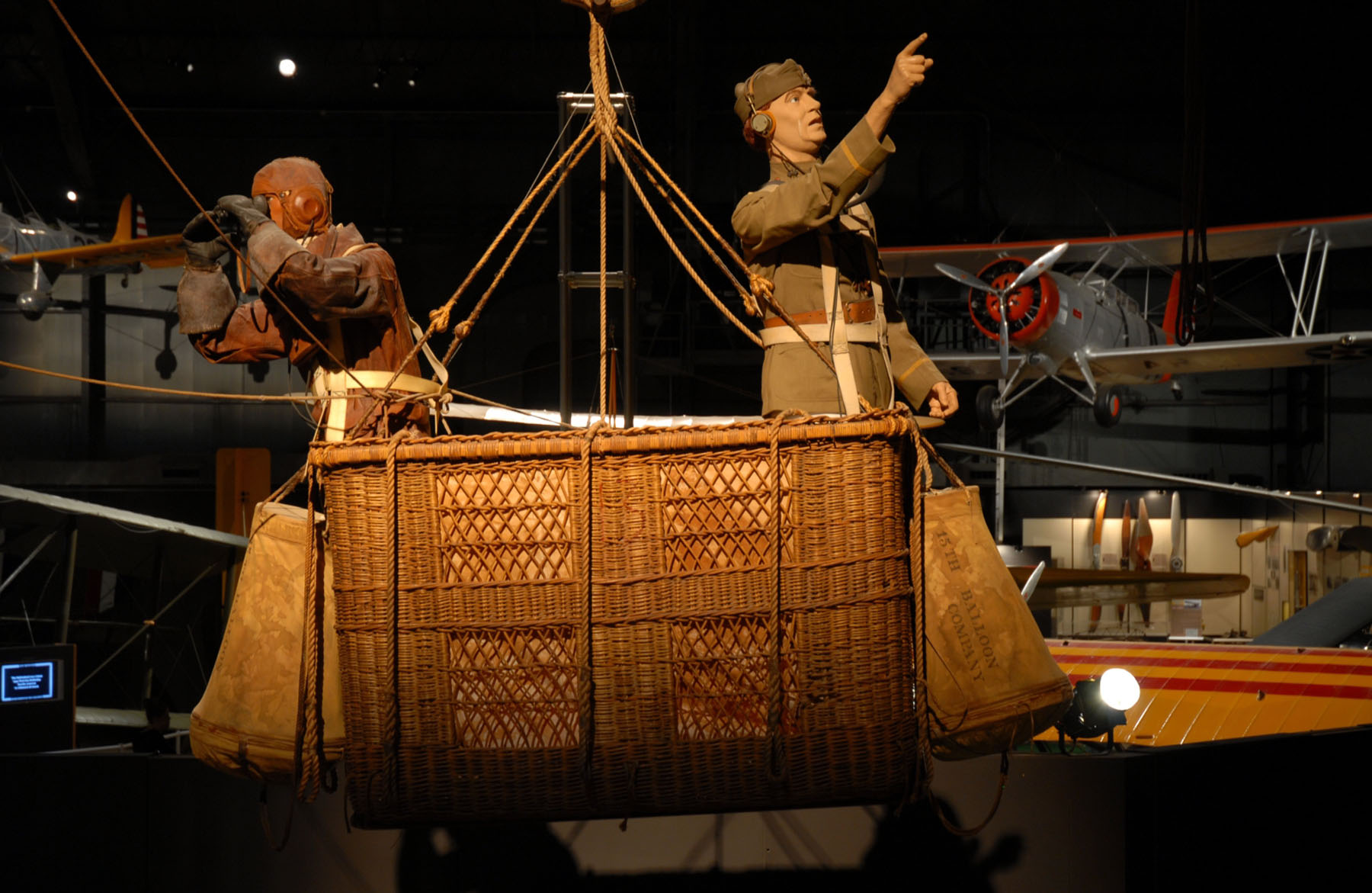 caquot type r observation balloon  u0026gt  national museum of the