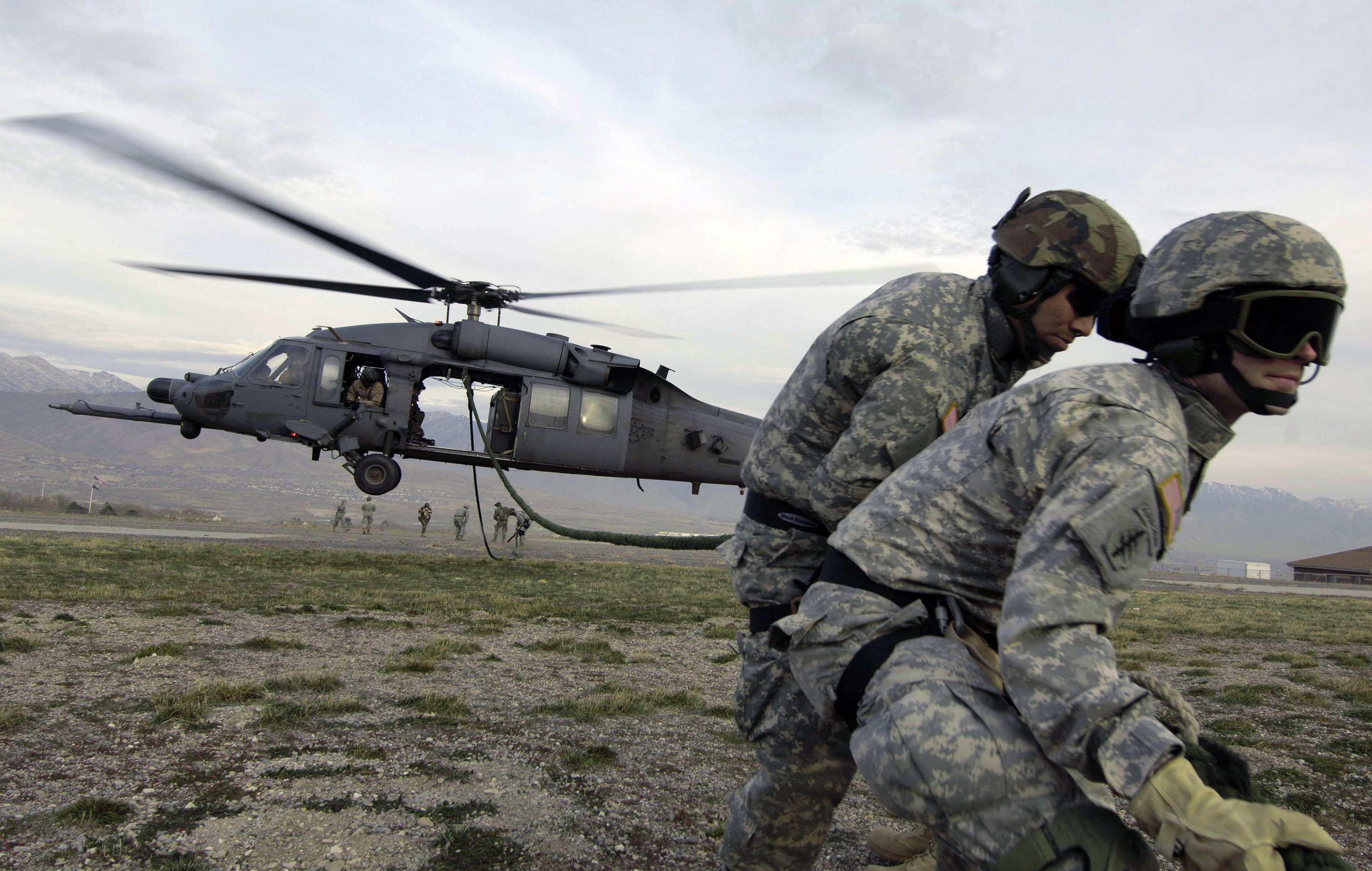 Pave Hawks – New Combat Rescue Helicopter