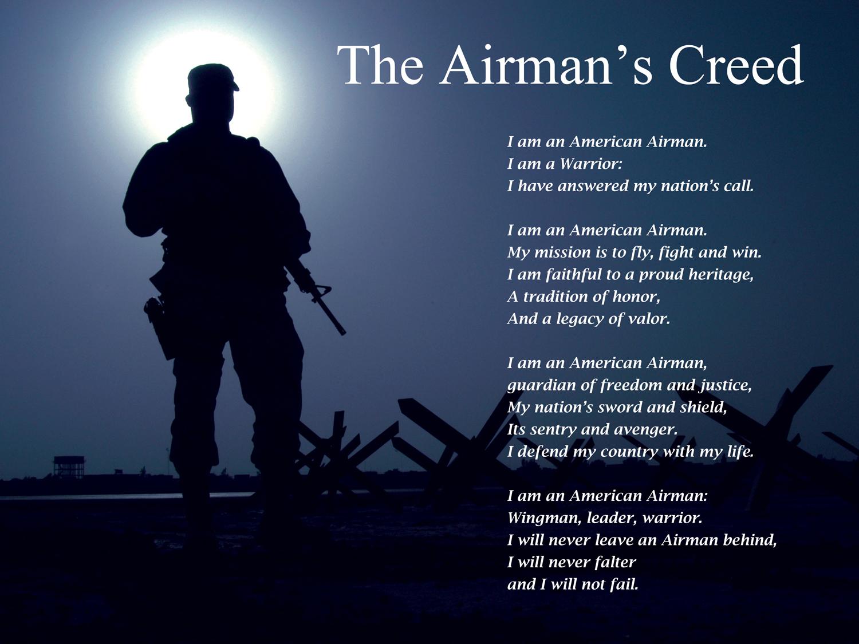 Airmans creed exemplifies warfighting ethos 315th airlift wing airmans creed exemplifies warfighting ethos altavistaventures Images
