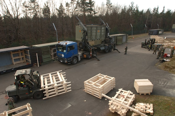 With 50 percent of their manpower slashed, Ramstein's 435th Munitions Squadron is looking for new ways to do business.