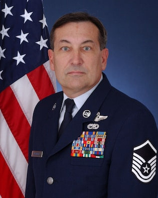 Master Sgt. Robert Kusterer, a 68th Airlift Squadron C-5 flight engineer, was awarded the Air Force Association 2007 Reservist of the Year award. (U.S. Air Force Courtesy Photo)