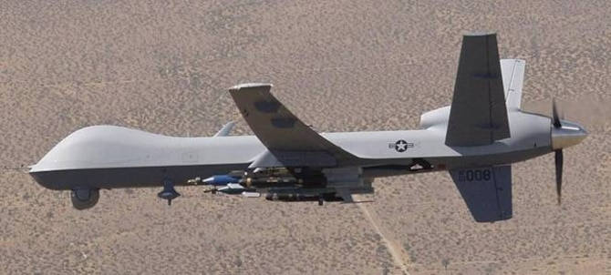 "The ""Reaper"" has been chosen as the name for the MQ-9 unmanned aerial vehicle. (Air Force photo)"