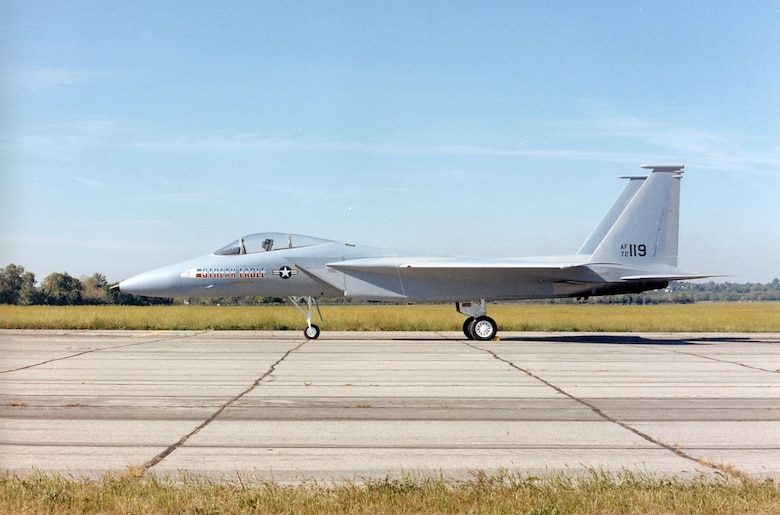 DAYTON, Ohio -- McDonnell Douglas F-15 Streak Eagle is currently in storage at the National Museum of the United States Air Force. (U.S. Air Force photo)