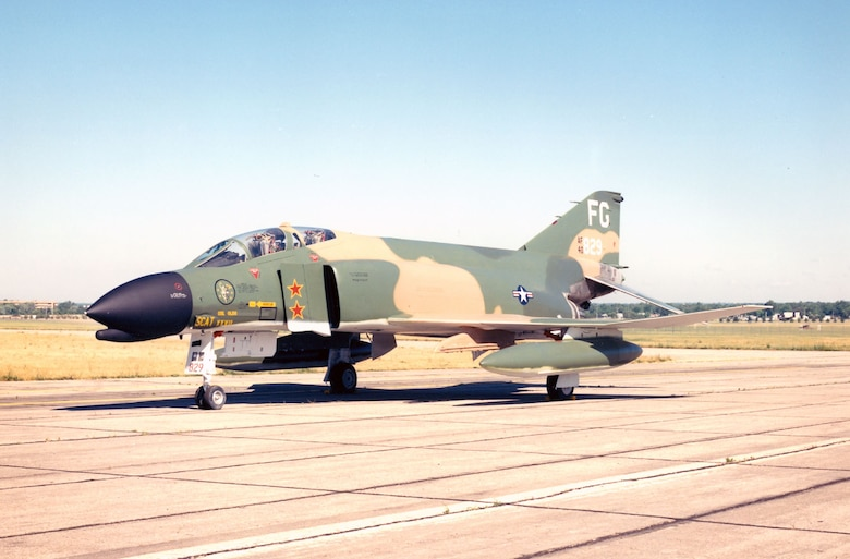 DAYTON, Ohio -- McDonnell Douglas F-4C Phantom II at the National Museum of the United States Air Force. (U.S. Air Force photo)