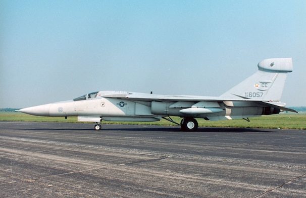 DAYTON, Ohio -- General Dynamics EF-111A Raven at the National Museum of the United States Air Force. (U.S. Air Force photo)