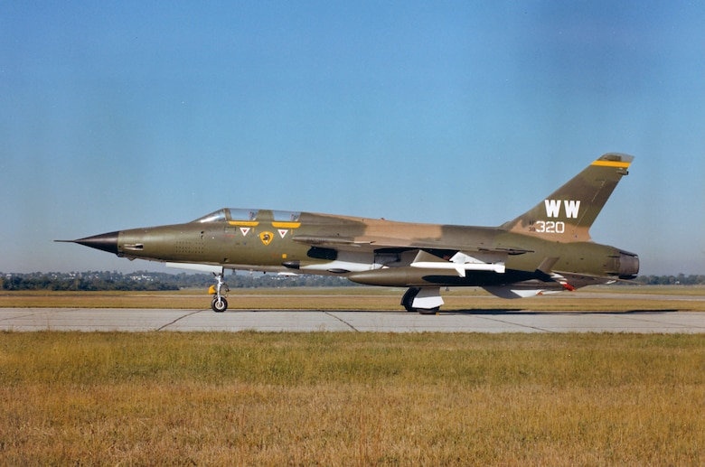 DAYTON, Ohio -- Republic F-105G Thunderchief at the National Museum of the United States Air Force. (U.S. Air Force photo)