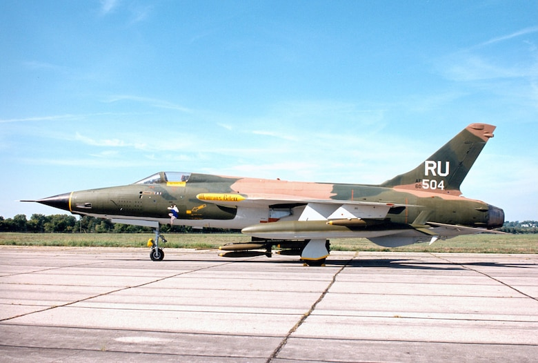 DAYTON, Ohio -- Republic F-105D Thunderchief at the National Museum of the United States Air Force. (U.S. Air Force photo)