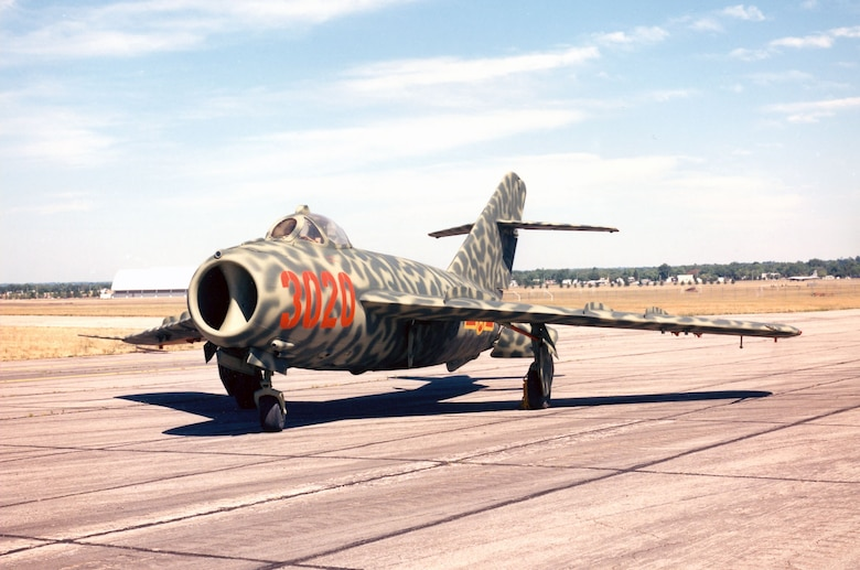 DAYTON, Ohio -- Mikoyan-Gurevich MiG-17F at the National Museum of the United States Air Force. (U.S. Air Force photo)