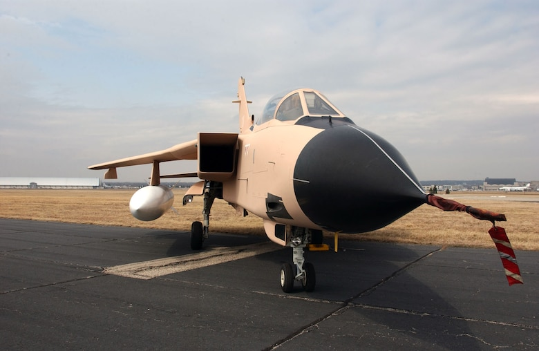 DAYTON, Ohio -- Panavia Tornado at the National Museum of the United States Air Force. (U.S. Air Force photo)