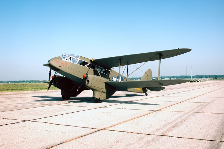 DAYTON, Ohio -- De Havilland DH 89 Dominie at the National Museum of the United States Air Force. (U.S. Air Force photo)