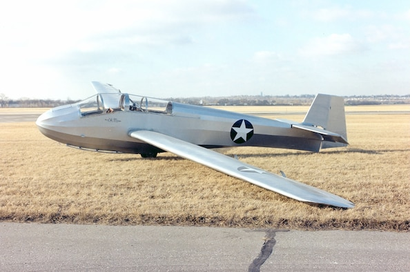 DAYTON, Ohio -- Schweizer TG-3A at the National Museum of the United States Air Force. (U.S. Air Force photo)