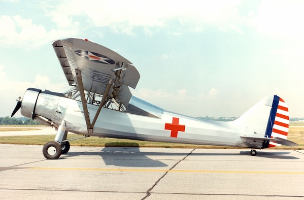 DAYTON, Ohio -- Vultee L-1A Vigilant at the National Museum of the United States Air Force. (U.S. Air Force photo)