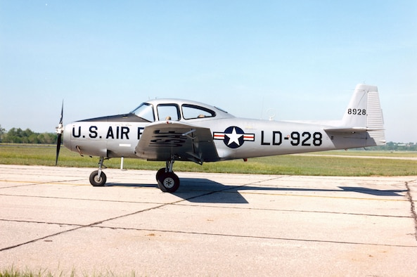 DAYTON, Ohio -- North American L-17A Navion at the National Museum of the United States Air Force. (U.S. Air Force photo)
