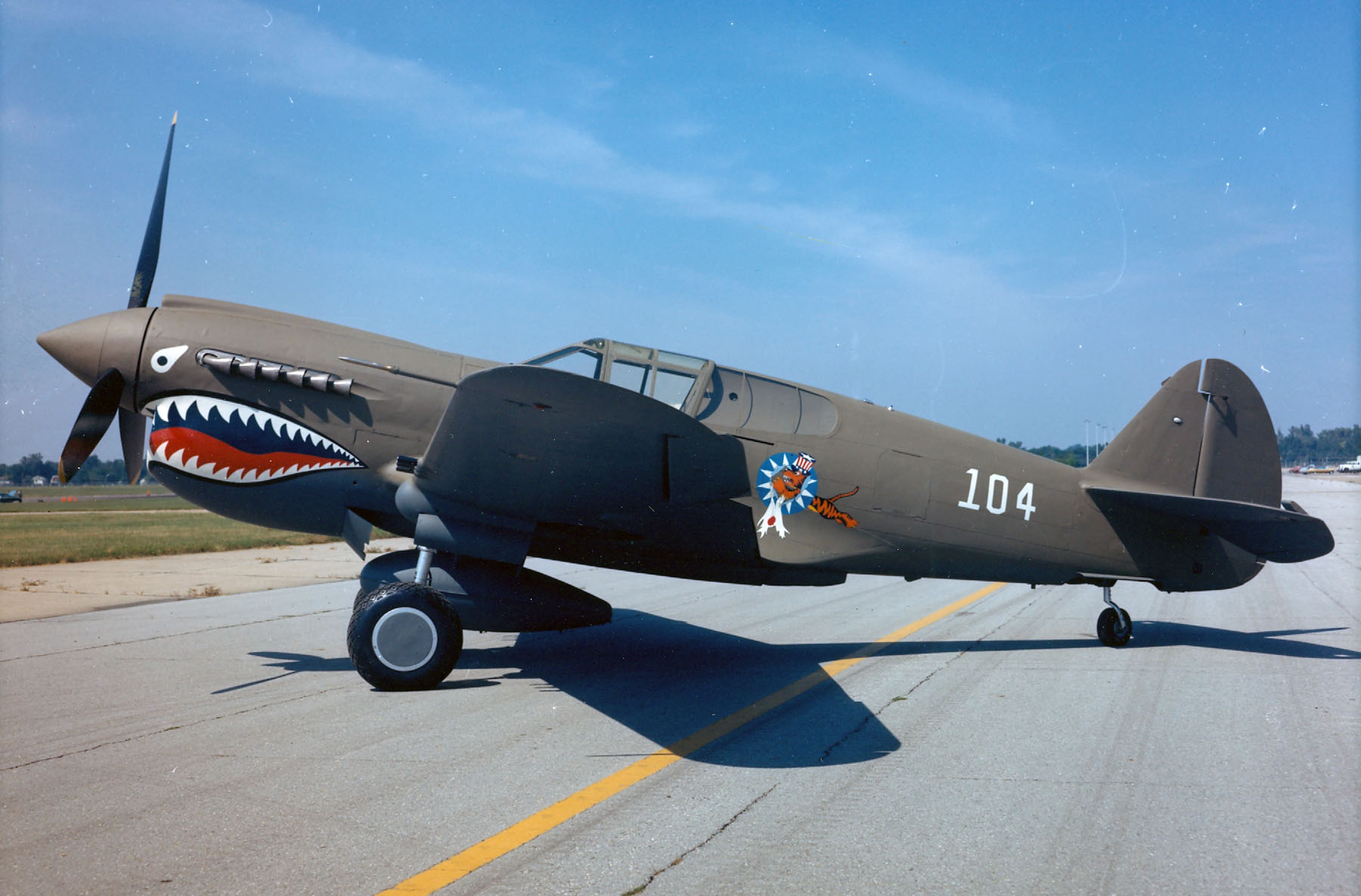 Curtiss P 40e Warhawk Gt National Museum Of The Us Air