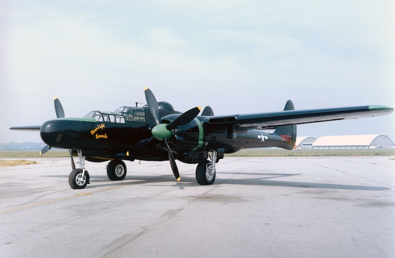 DAYTON, Ohio -- Northrop P-61C Black Widow at the National Museum of the United States Air Force. (U.S. Air Force photo)