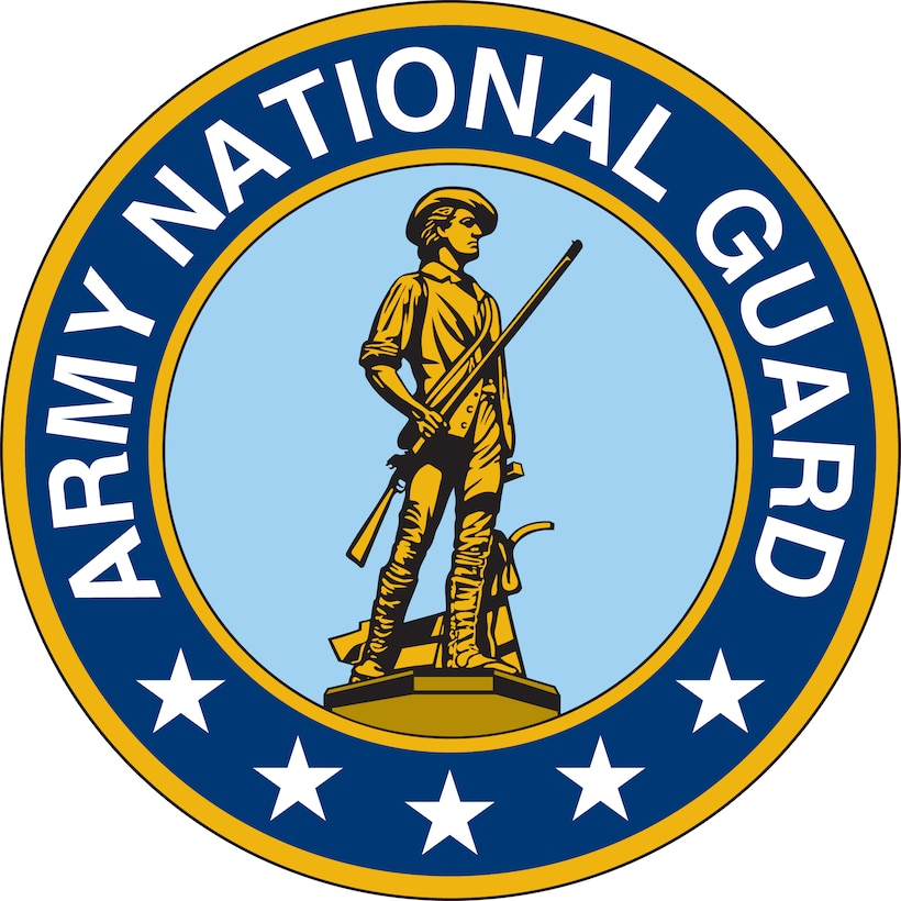 Army National Guard Seal (Color).  Image is 7x7 inches 2 300ppi.  Department of Defense and Military Seals are protected by law from unauthorized use. These seals may NOT be used for non-official purposes. For additional information contact the appropriate proponent.