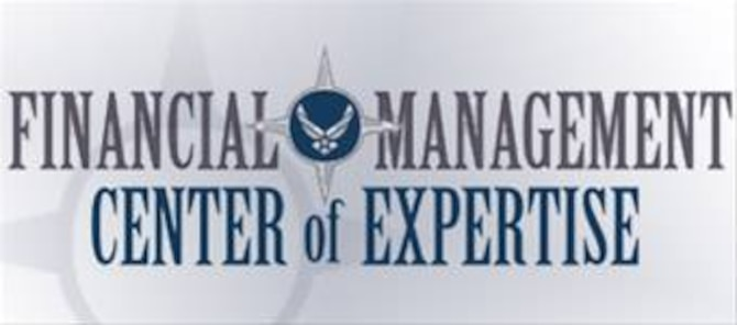 Air Force Financial Management Center of Expertise logo provided by Scott Vadnais and designed by the Air Force Graphics office.