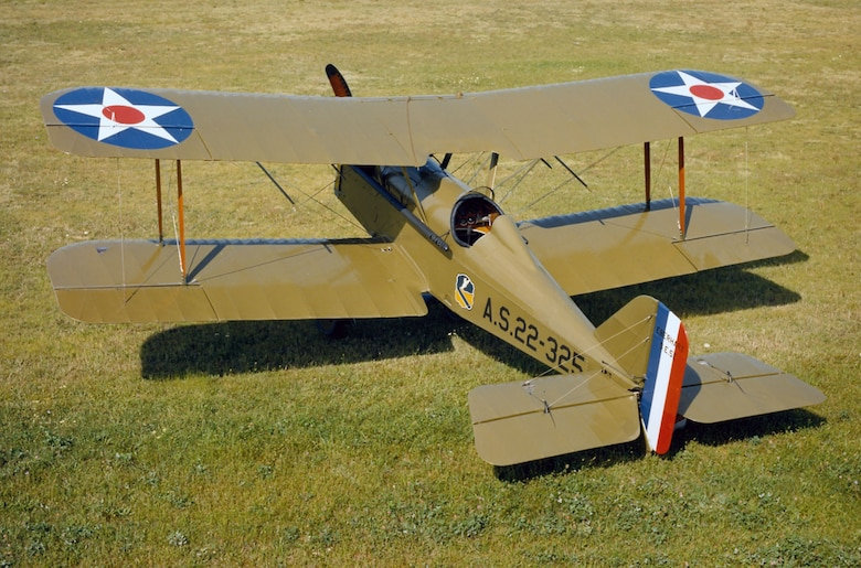 DAYTON, Ohio -- Eberhart SE-5E at the National Museum of the United States Air Force. (U.S. Air Force photo)