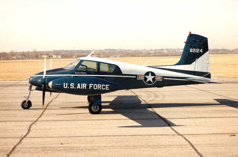 DAYTON, Ohio -- Cessna U-3A at the National Museum of the United States Air Force. (U.S. Air Force photo)