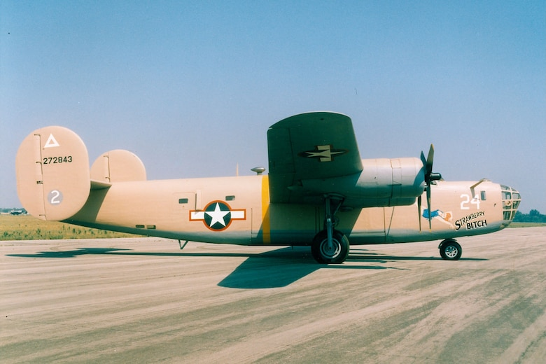 DAYTON, Ohio -- Consolidated B-24D Liberator at the National Museum of the United States Air Force. (U.S. Air Force photo)