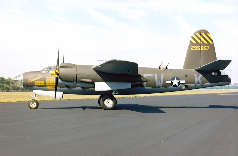 DAYTON, Ohio -- Martin B-26G Marauder at the National Museum of the United States Air Force. (U.S. Air Force photo)