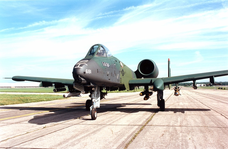 DAYTON, Ohio -- Fairchild Republic A-10A Thunderbolt II at the National Museum of the United States Air Force. (U.S. Air Force photo)