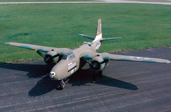 DAYTON, Ohio -- Douglas A-20G Havoc at the National Museum of the United States Air Force. (U.S. Air Force photo)