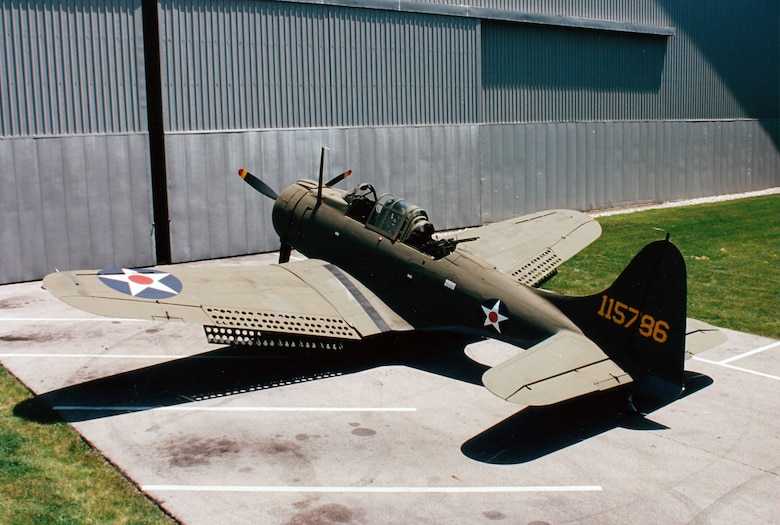 DAYTON, Ohio -- Douglas A-24 at the National Museum of the United States Air Force. (U.S. Air Force photo)