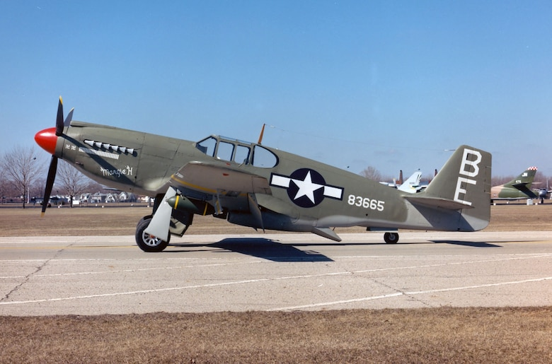 DAYTON, Ohio -- North American A-36A Mustang at the National Museum of the United States Air Force. (U.S. Air Force photo)