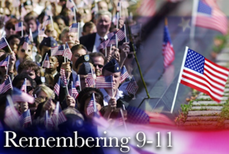 Since Sept. 11, 2001, the Air Force has been continuously called upon to help preserve the nation's way of life and defeat the threat of terrorism. Now, six years later, the Air Force has nearly 40,000 active duty, Guard and Reserve Airmen deployed to more than 20 countries across the globe, supporting the war on terrorism.  (U.S. Air Force graphic/Mike Carabajal)