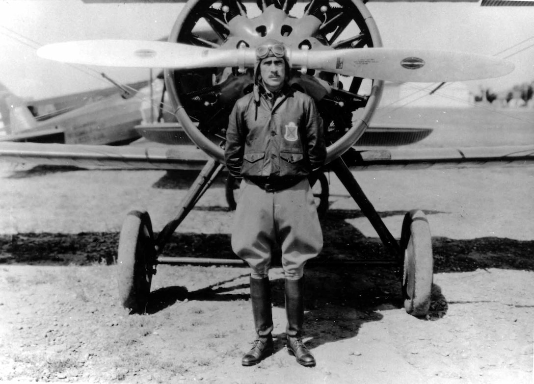 Maj. Gen. Clarence Tinker, an Oklahoma native and Tinker Air Force Base namesake, was killed in 1942 when he led a flight of LB-30s into a bomb strike against the Japanese. Gen. Tinker, who selected himself as flight leader for the combat mission instead of asking his subordinates to go, was the first general officer to die in action during World War II. (Air Force photo courtesy of Oklahoma City Air Logistics Center History Office)