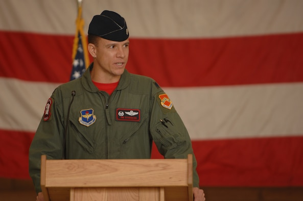 Lt. Col. Jim Sturgeon, 21st Fighter Squadron commander