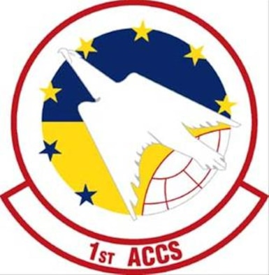1st Airborne Command Control Squadron Emblems