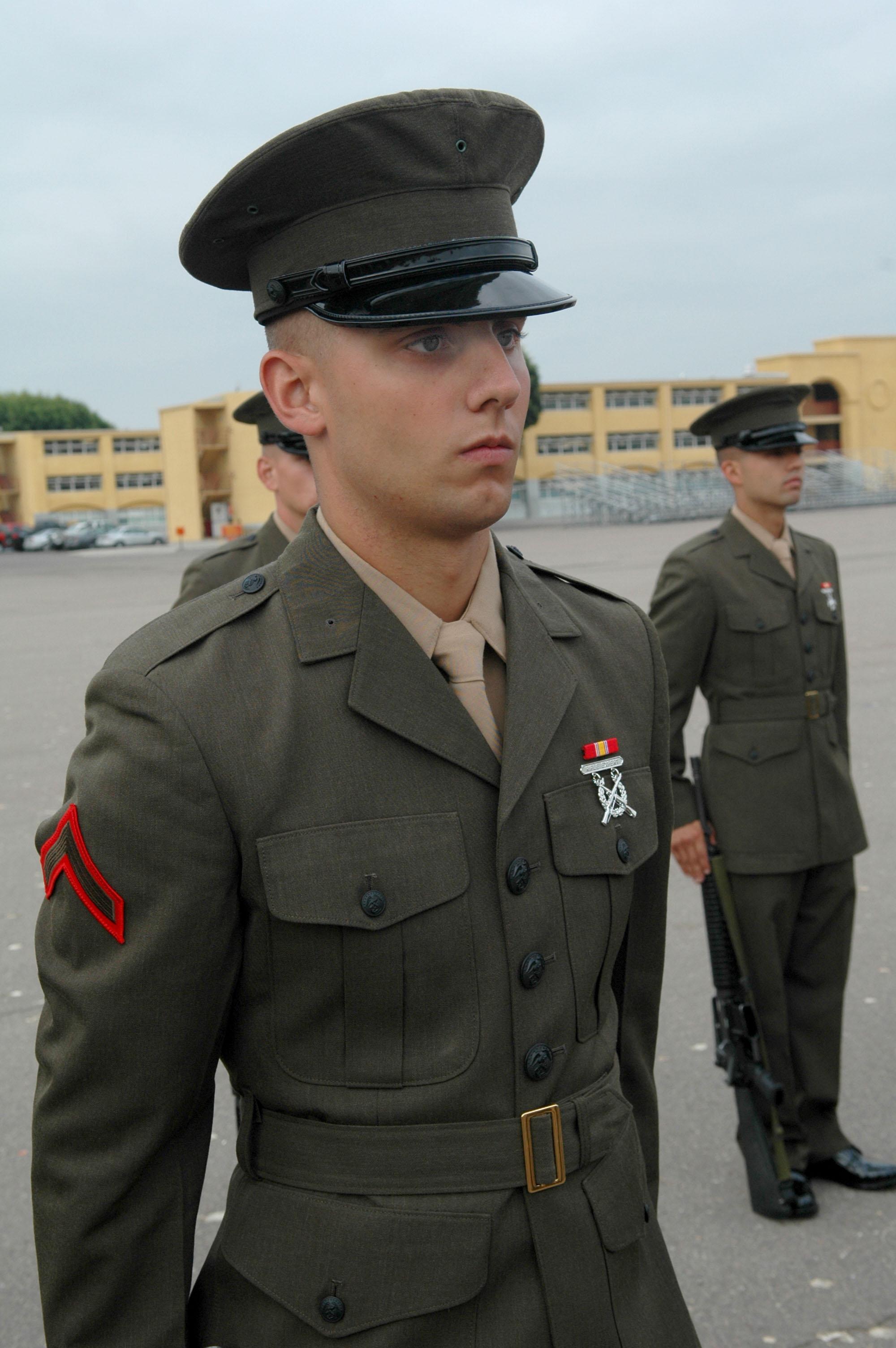 New Marine ditches inheritance to serve > Marine Corps ...