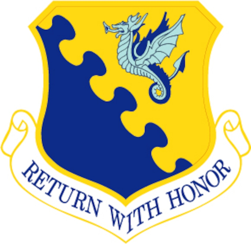31st Fighter Wing shield (U.S. Air Force graphic)