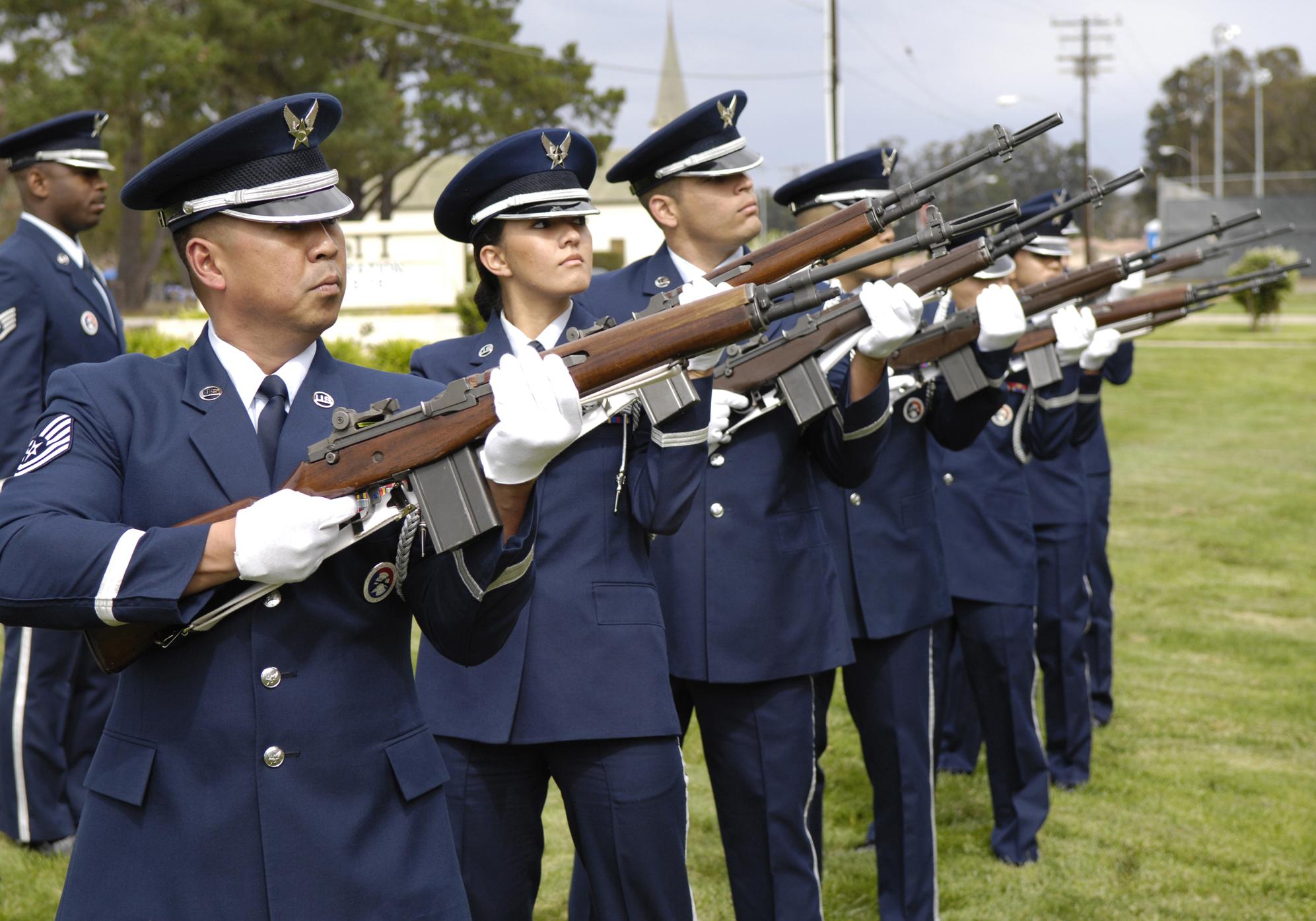 vandenberg air force base calif members of the base honor guard perform photo details download hi res