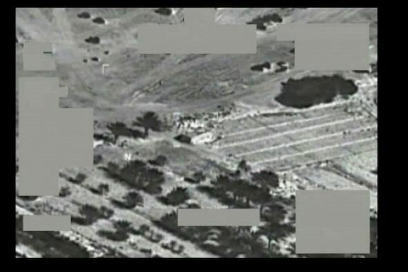 COMBINED AIR OPERATIONS CENTER, Southwest Asia – A U.S. Air Force F-16CJ Fighting Falcon dropped precision munitions near Al Nussayyib, Iraq, Sept. 25, killing Abu Nasr al-Tunisi and two other Al Q'aeda in Iraq operatives.