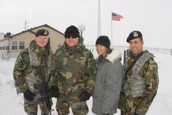 119th Wing Detachment 2 Security Forces personnel in Minot, N.D.