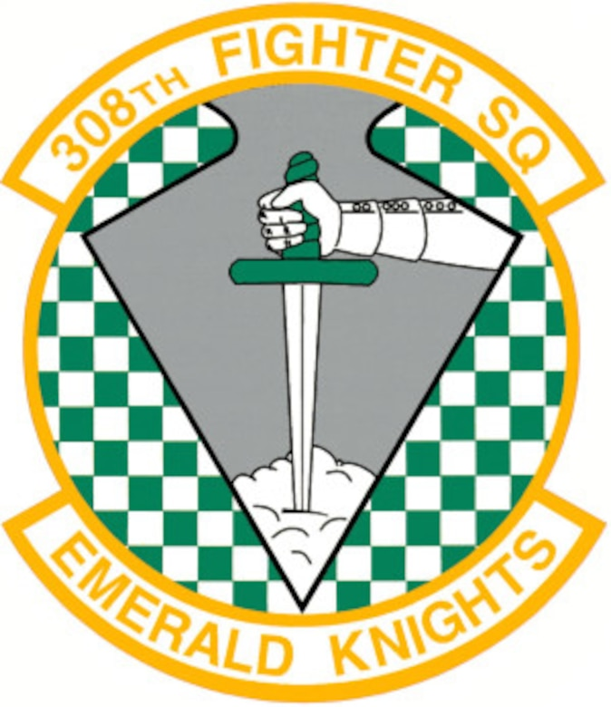 308 Fighter Squadron Emblem