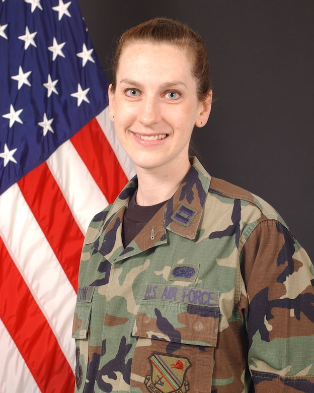 Capt. Marissa Carlton is the Sexual Assault Response Coordinator for the 354th Fighter Wing, Eielson AFB, Alaska.