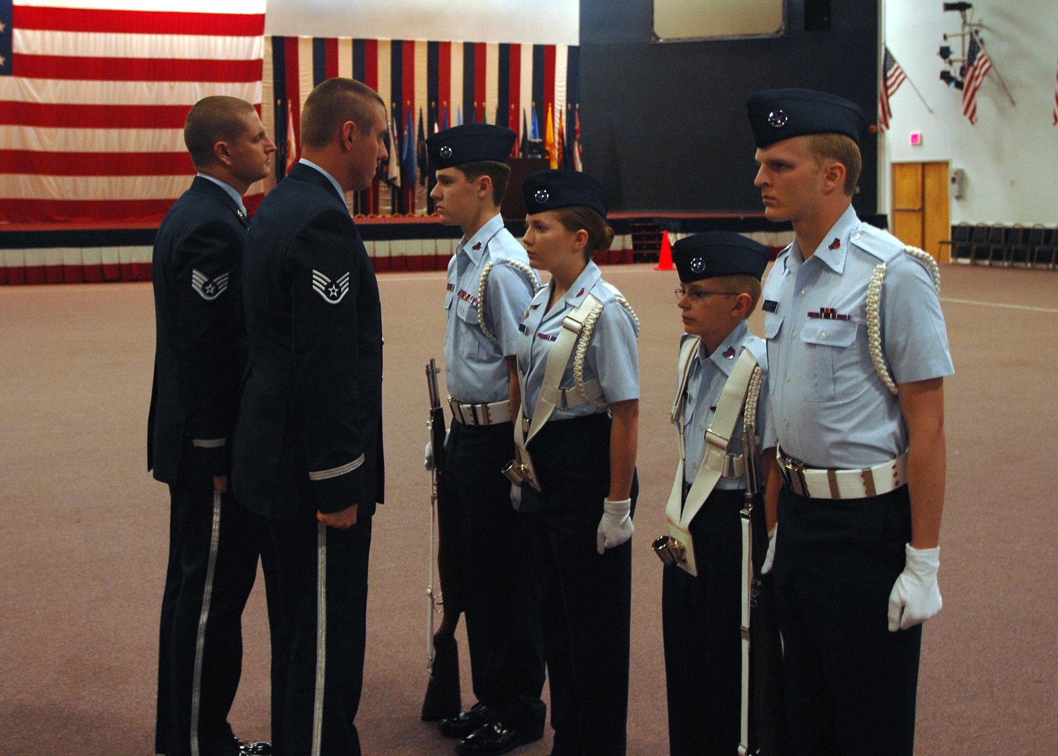 61f668040a2 Civil Air Patrol Southwest region competition held at Barksdale ...